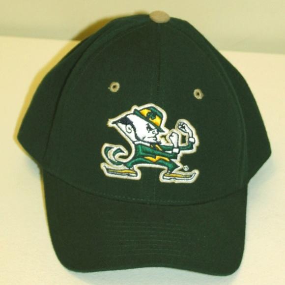 8b6c736d92 Notre Dame Fighting Irish Hat Cap Dark Green Mens